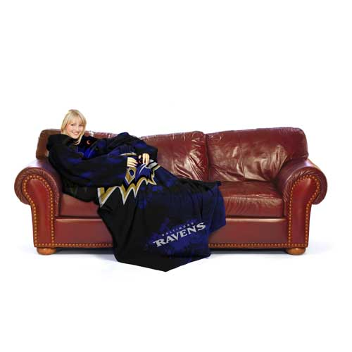 Baltimore Ravens Huddler Blanket