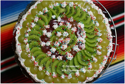 torta paradiso con panna e frutta