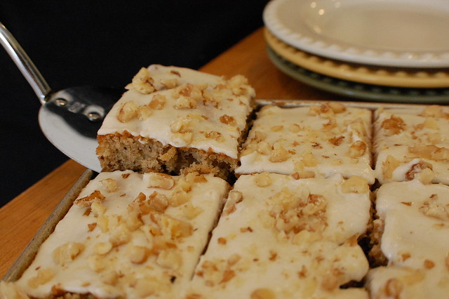 Banana-Nut Sheet Cake | Flickr - Photo Sharing!