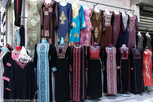 Palestinian Embroidery in the Souk