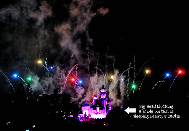 Sleeping Beauty's Castle and Fireworks