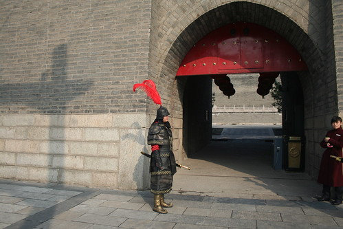 2011-11-18 - Xian - City wall - 03 - Left guard