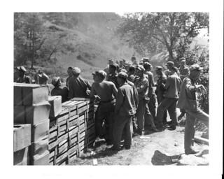 Post Exchange, Korea, 1951