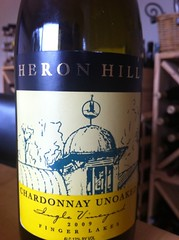 2009 Heron Hill Vineyards Chardonnay Unoaked Ingle Vineyard