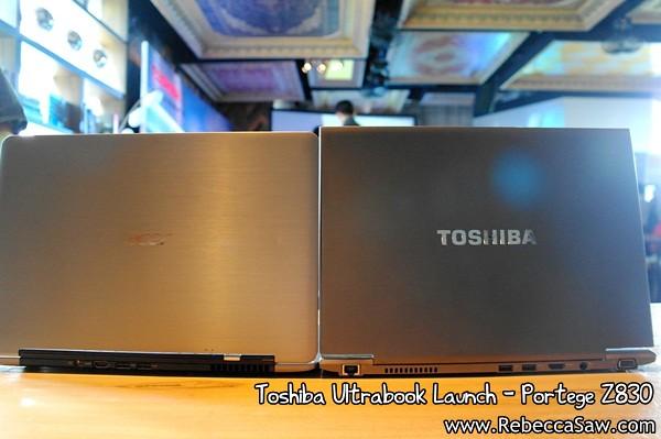 Toshiba Ultrabook - Portege Z830-19