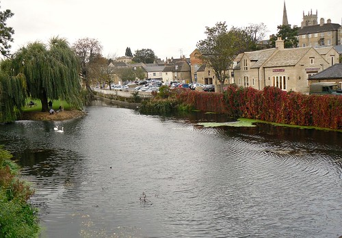 The River Welland, Stamford