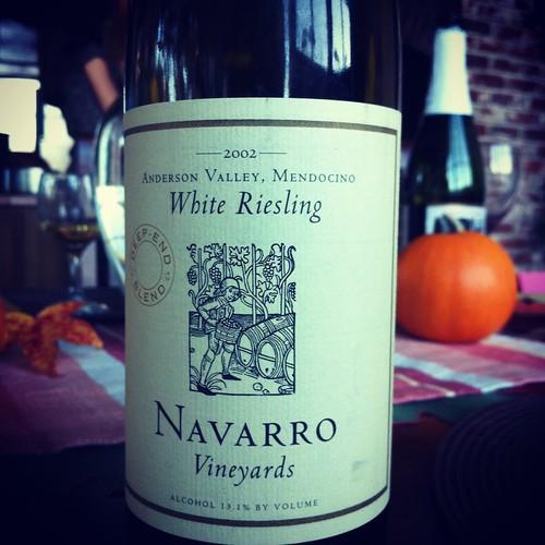 2002 Navarro Deep End Riesling