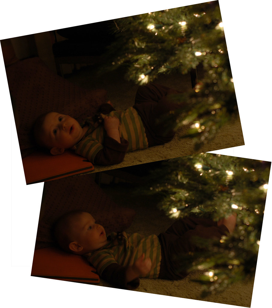 isaacs first christmas_collage_4