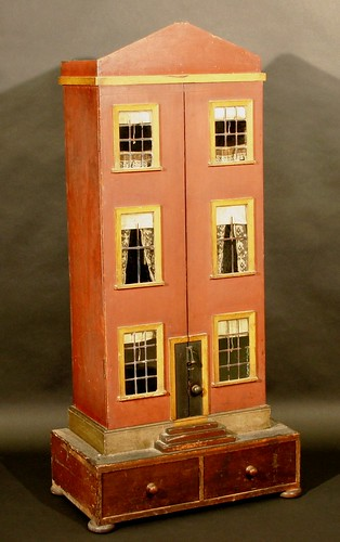 A Victorian dolls house, which should make £600 to £800