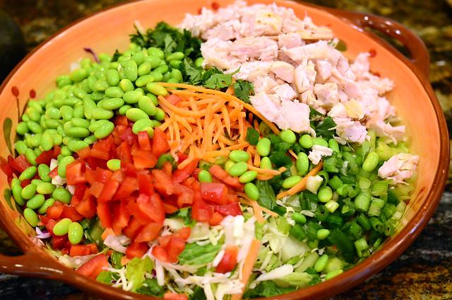 2012-03-25 Thai Chicken Salad 061
