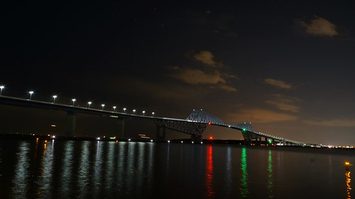 Night at Tokyo Gate Bridge