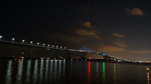 Night at Tokyo Gate Bridge