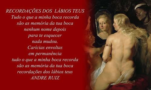 RECORDAÇÕES DOS  LÁBIOS TEUS by amigos do poeta
