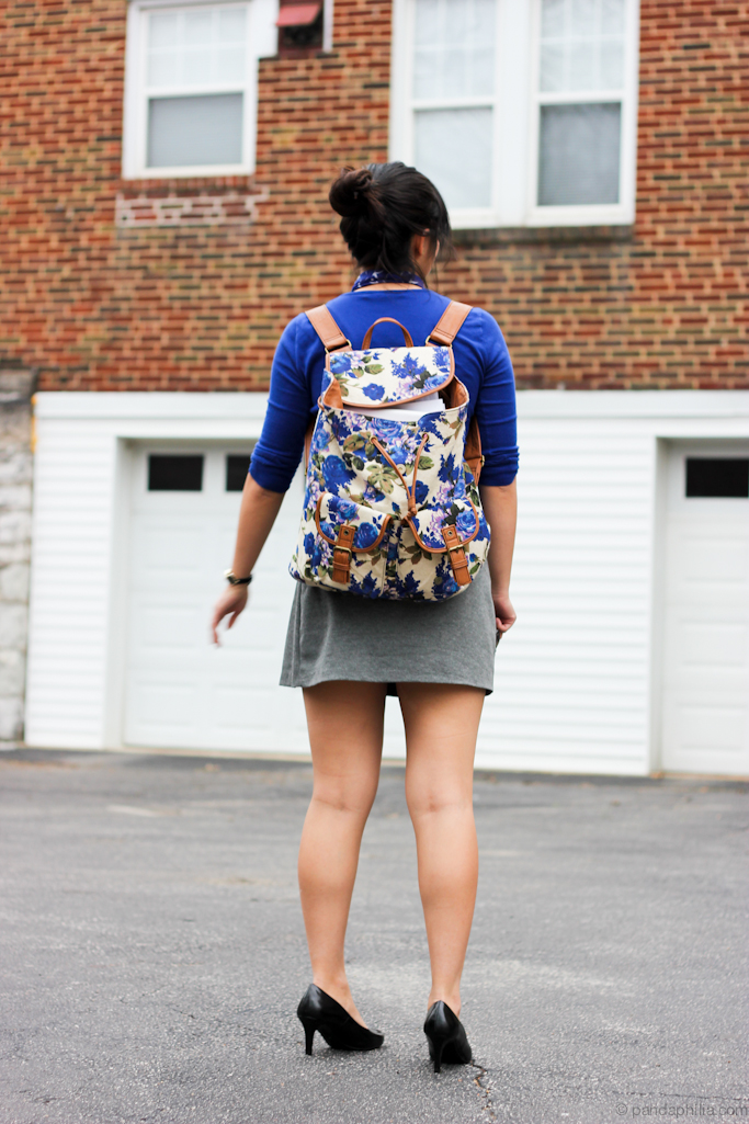 aldo vintage backpack