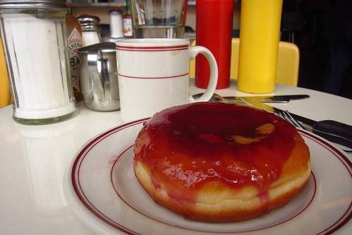 PB & Jam Doughnut