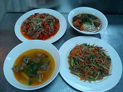 皇牛專賣店台灣牛菜色。農委會提供。