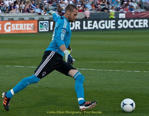 Matt Pickens Colorado Rapids 1 Apr 2012 by Corbin Elliott Photography