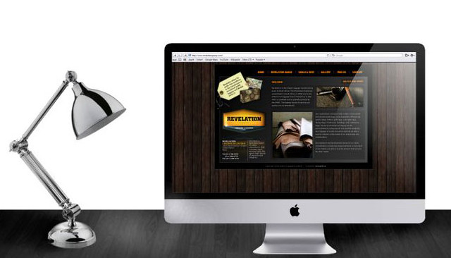 Revelation Website Design