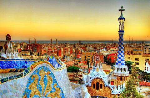 barcelona_sunset