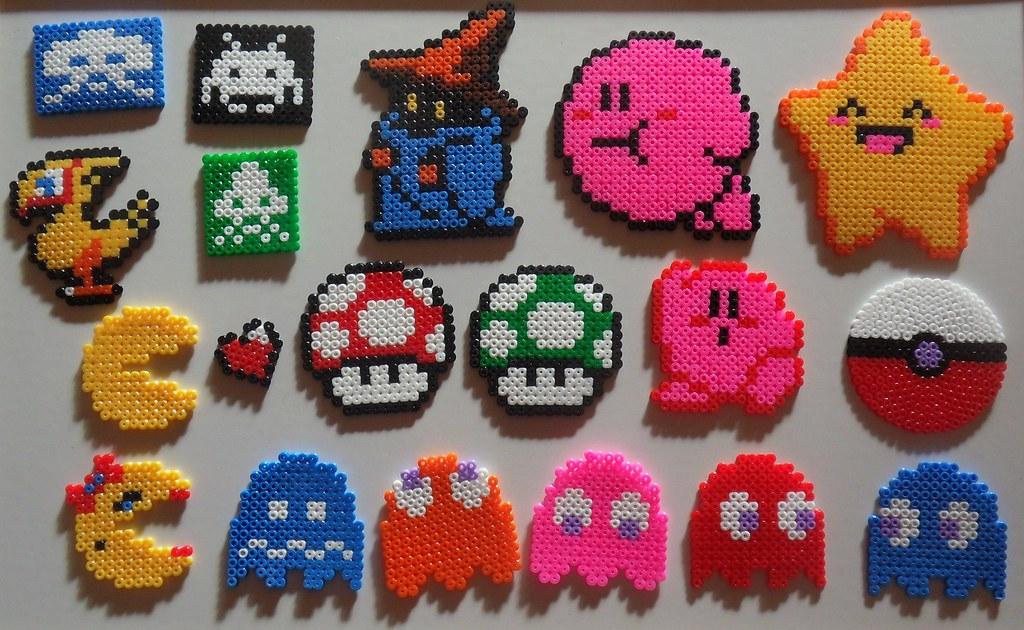 """""""пиксел арт"""" мъниста """"pixel bead art"""""""