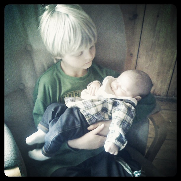 Aiden loves his cousin.