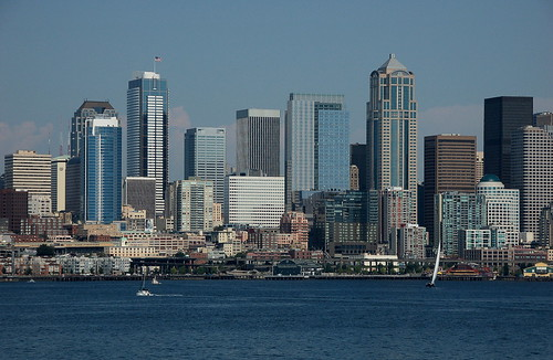 Seattle Washington Cityscape Photography
