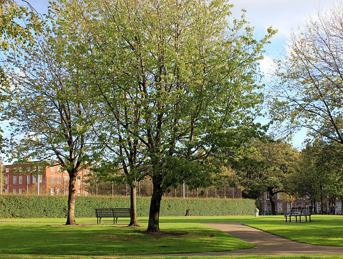 Mountjoy Square October 2011