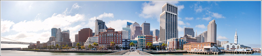 292 of 365 - Embarcadero San Francisco, Pano