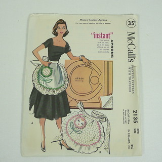 McCall's 6132 - Aprons - Sewing classes, patterns and reviews for