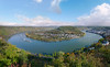 A magnificent view on the largest bend of the Rhine river by B℮n