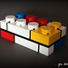 Brick Three - Mondrian