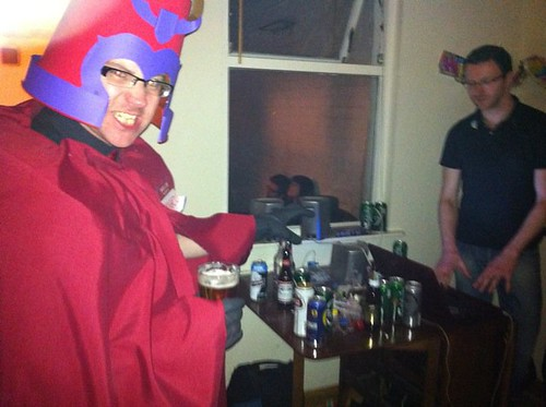 magneto attempting to get some cans