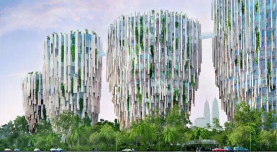 High-Rise Apartments in Malaysia, by Heatherwick Studio
