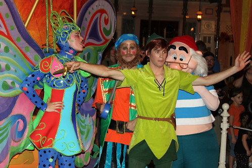 Peter Pan and Mr Smee