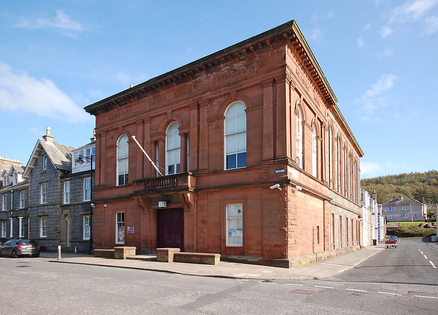 Town Hall, Saint Mary Street, Kirkcudbright, Dumfries and Galloway, Scotland