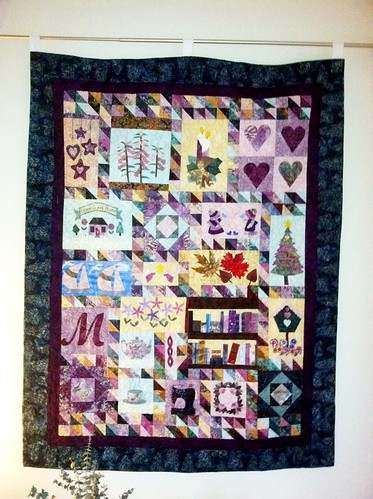 Quilt from Auntie Pam