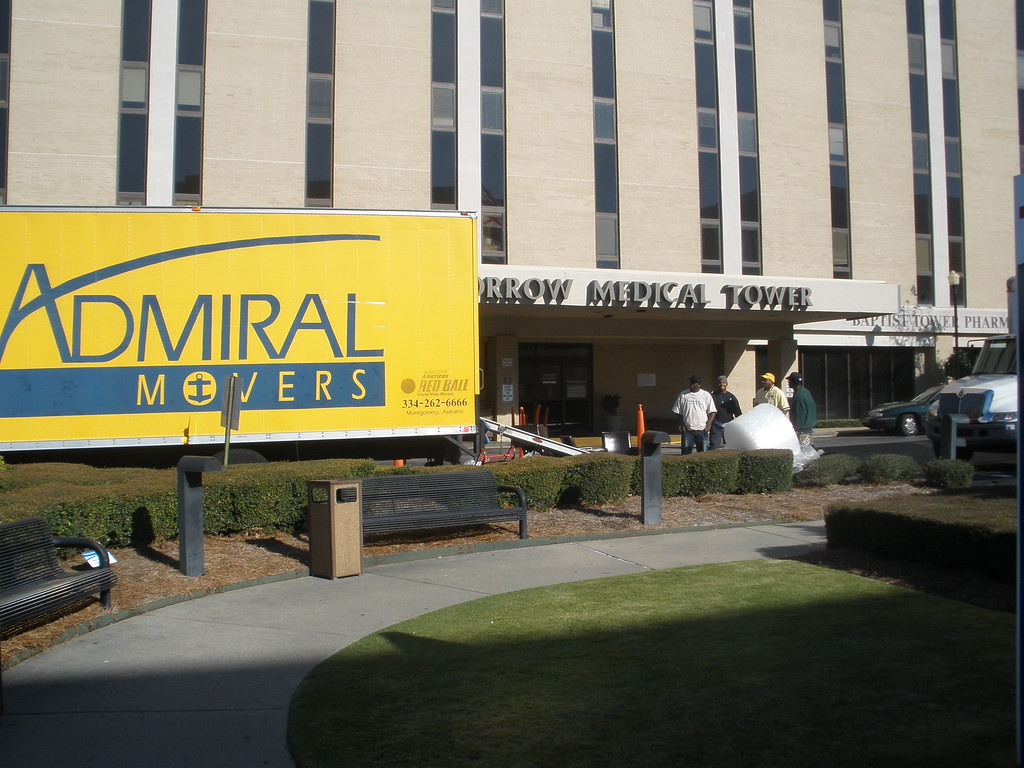 Baptist Hospital Moves Admiral Movers