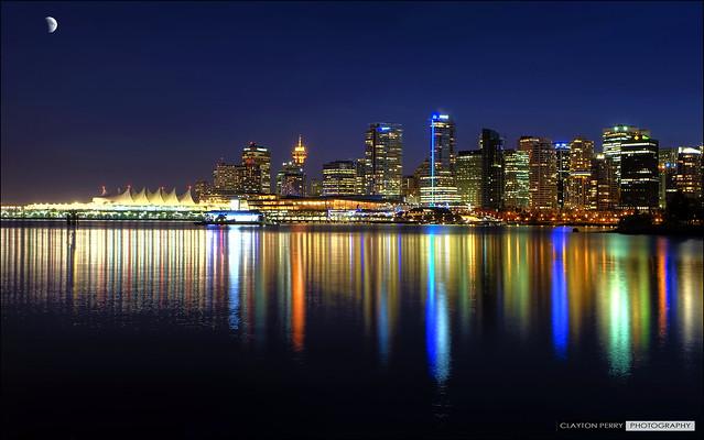 Vancouver's November Skyline