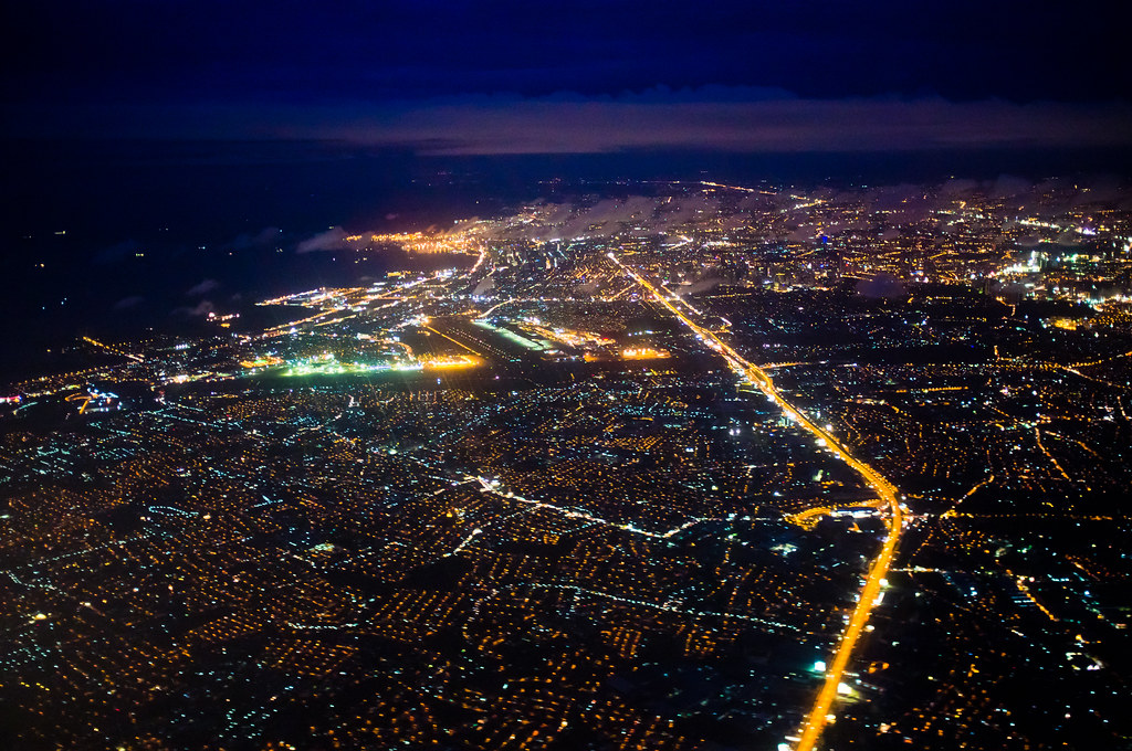Night View of Manila