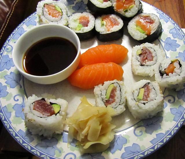 Whole Foods Sushi Stoke Newington Sushi