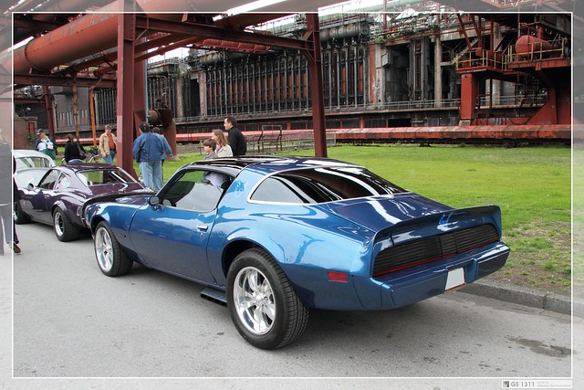 Pontiac Firebird Formula 400 Ram Air (Front 1970-72, Back 1979 ...