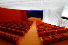conference hall(0.0), movie theater(1.0), function hall(1.0), performing arts center(1.0), room(1.0), theatre(1.0), stage(1.0), auditorium(1.0), convention center(1.0),