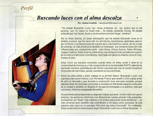 Revista Música Medellín Enero 2004