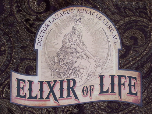 sign elixir of life (1) by broken toys