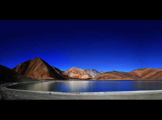 Pangong Tso or Pangongtso Lake in Ladakh