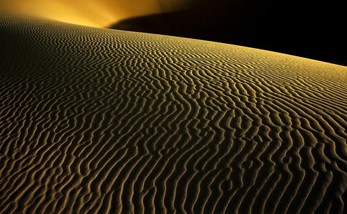 Dawn at Erg Chegaga dunes. 2.