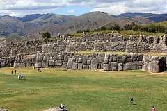 Grand view of Sacsayhuamán