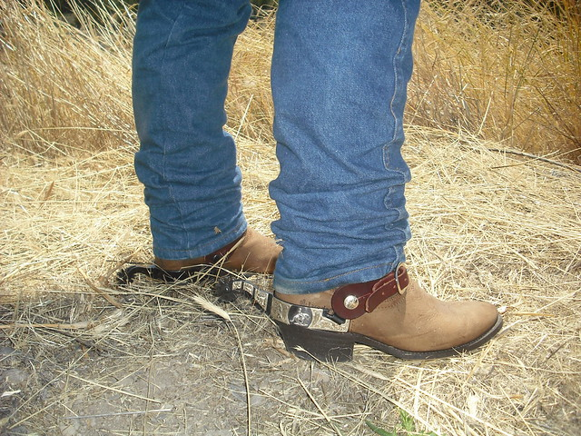 cowboy boots and spurs my wrangler laredo boots