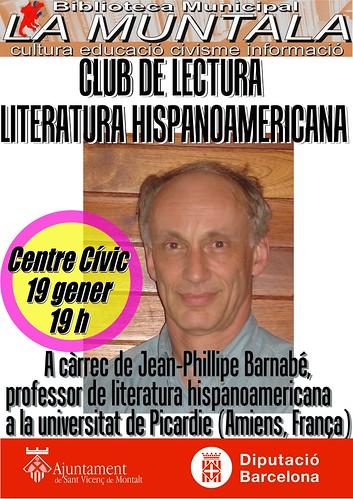 Club de lectura: literatura hispanoamericana by bibliotecalamuntala