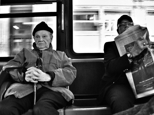 (Crosstown Bus) Chelsea, NYC, 2011